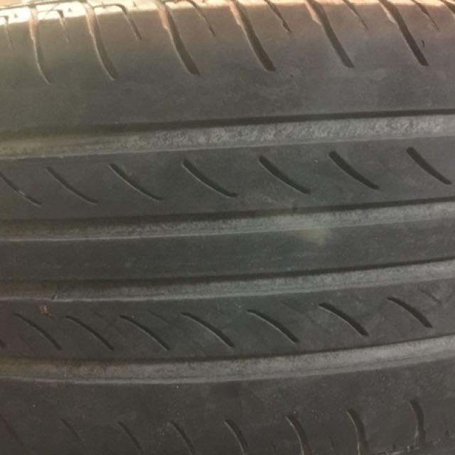 BMW e46 原廠16寸鋁圈含輪胎