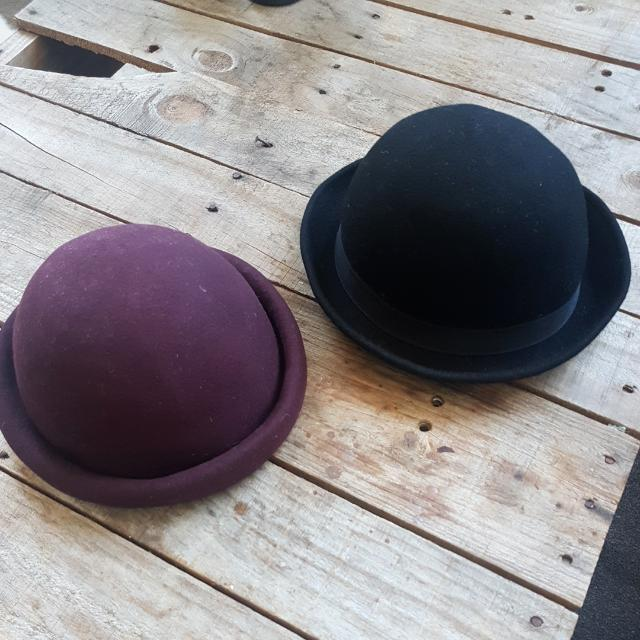 Bowler Hats Both Or One
