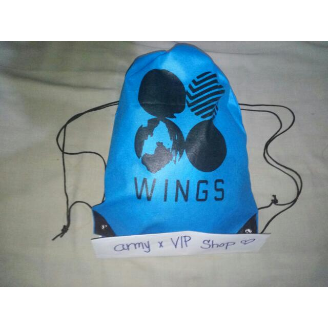 BTS WINGS STRINGBAG