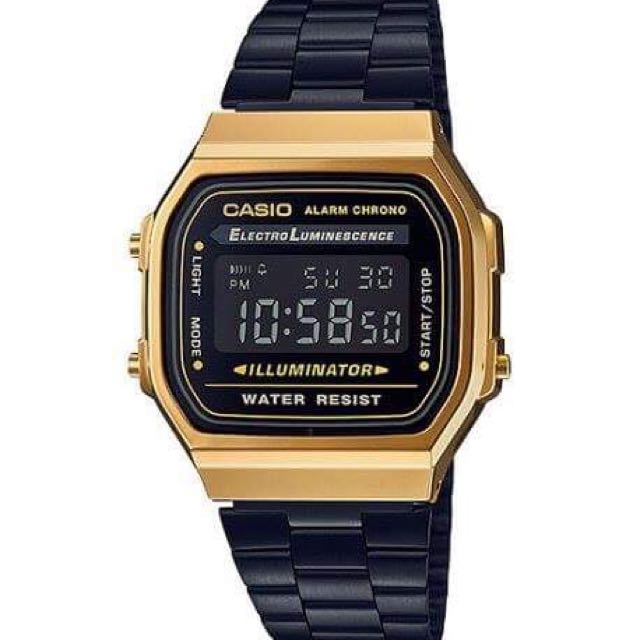 Casio Onyx Black And Gold