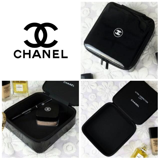 67d03ee9ad59cf Sold Out] Chanel Gwp Makeup Case / Pouch, Bulletin Board, Preorders ...