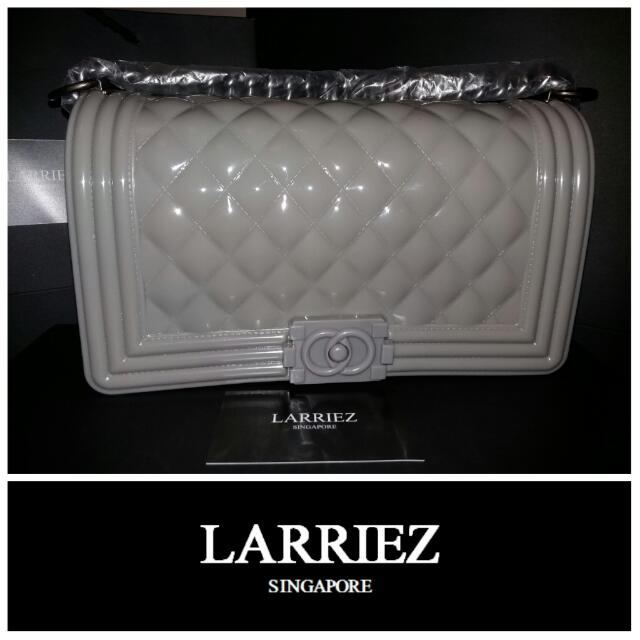 aa0c6c7f79b3 In Stock Chanel Toyboy Jelly Bag (Inspired