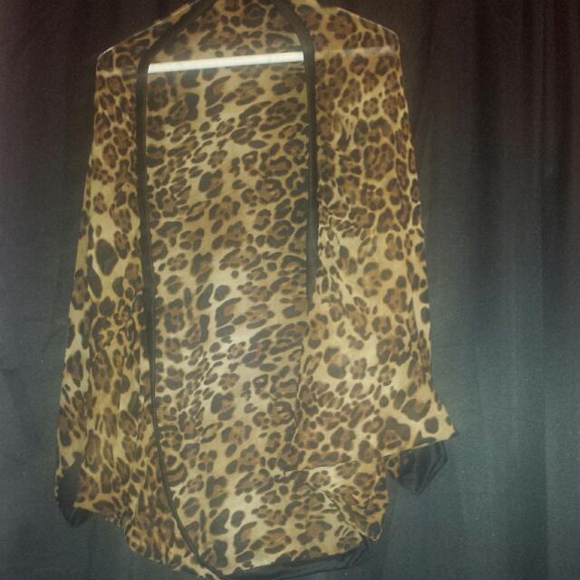 Cheetah print Shawl
