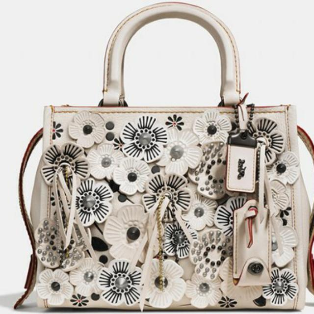 28c0d4f2c0 Coach Rogue 25 In Glovetanned Pebble Leather With Wild Tea Rose