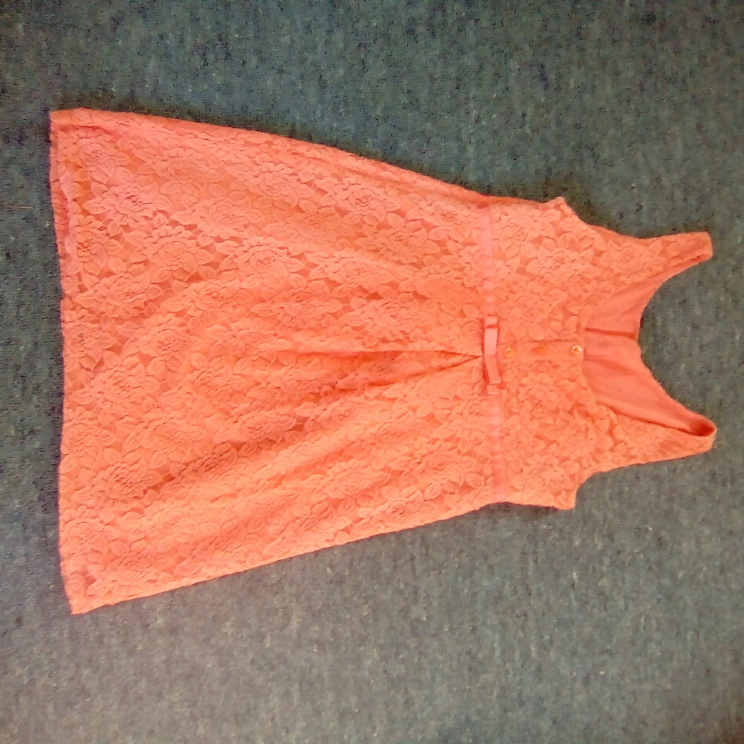 coral dress Size 14 to 16