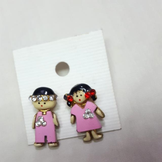 Couple (Boy & Girl) Earrings