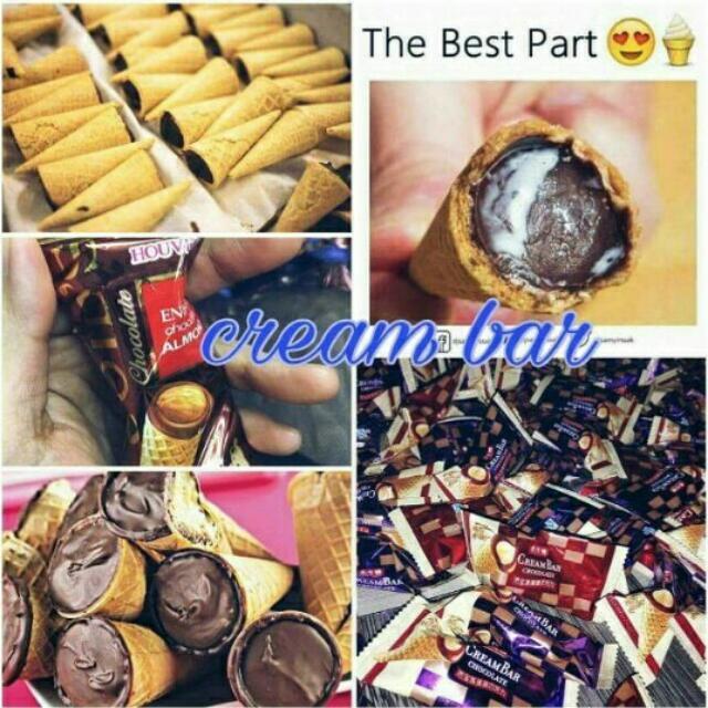 CREAM BAR CHOCOLATE 🍫