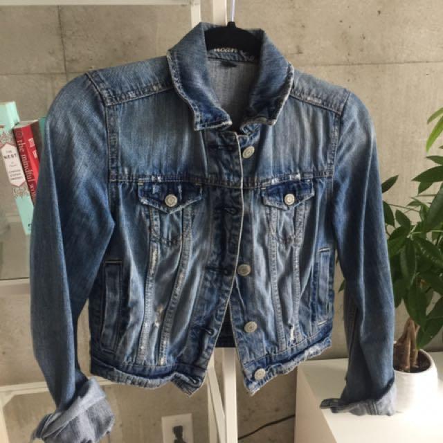 Denim Jacket - XS
