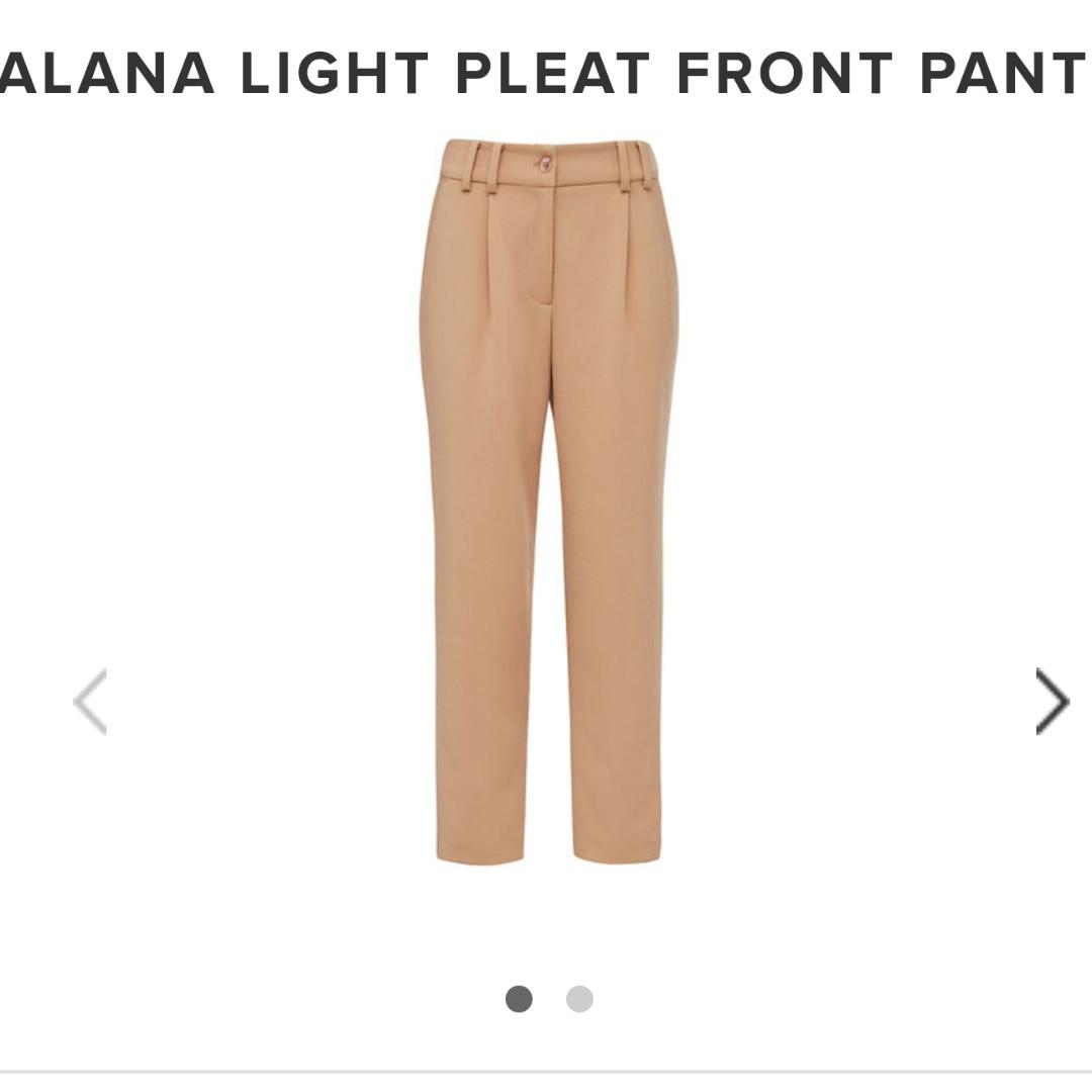 FCUK Alana Light Pleat Pant