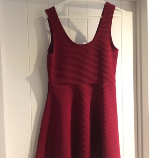Float Red Dress