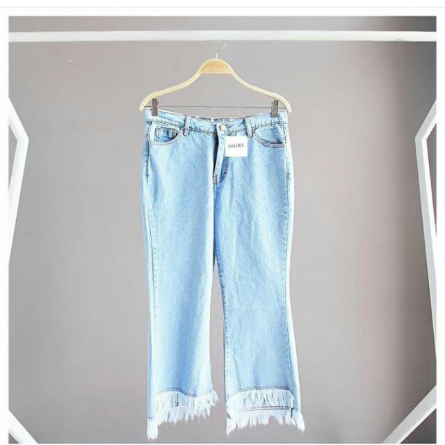 Fringe Jeans Denim