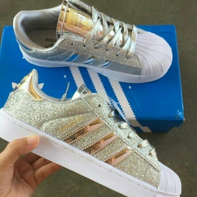 adidas superstar glitter video