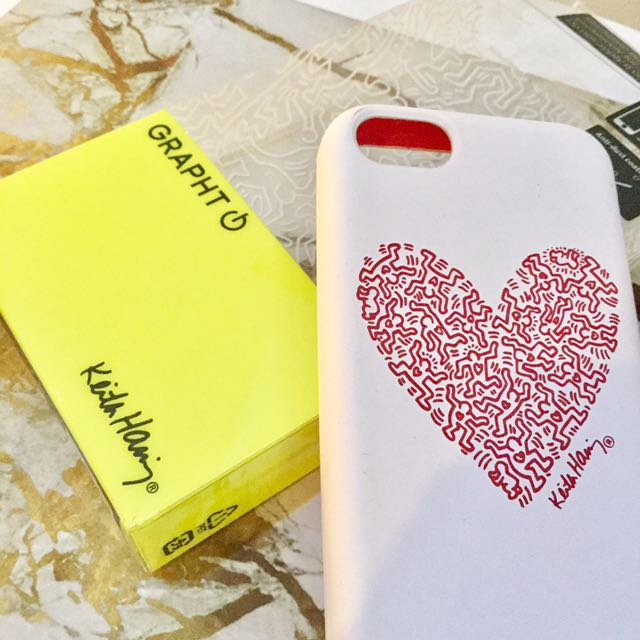 GRAPHT x Keith Haring iPhone 5/5S/5C Casing