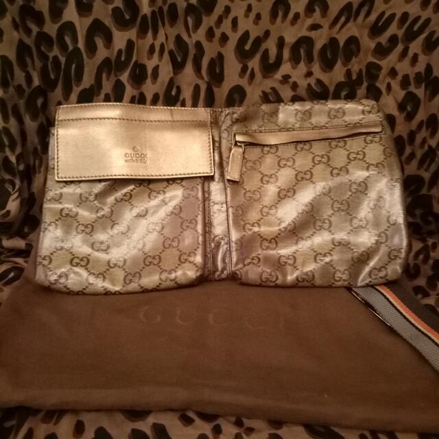 Gucci Gold Belt Bag