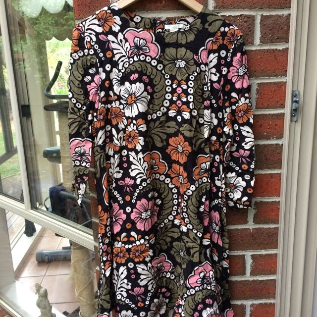 H&M Floral 60s Style Dress