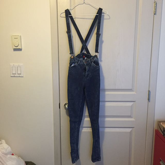 H&M High-waisted Jean Dungarees