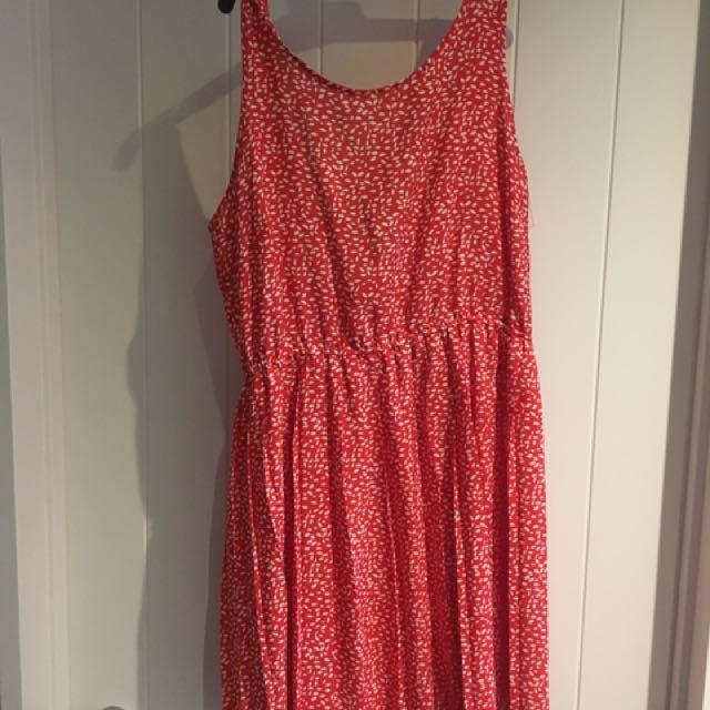 H&M Red Summer Dress