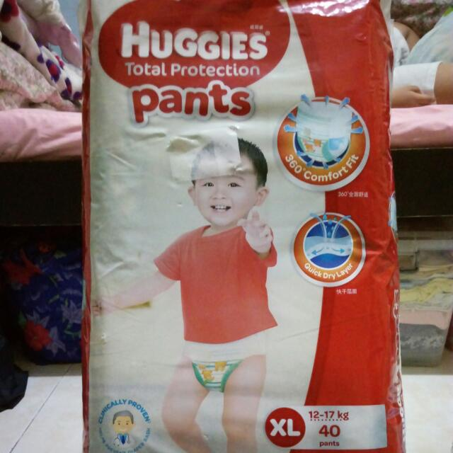 Huggies Total Protection Pants (Red Pack)