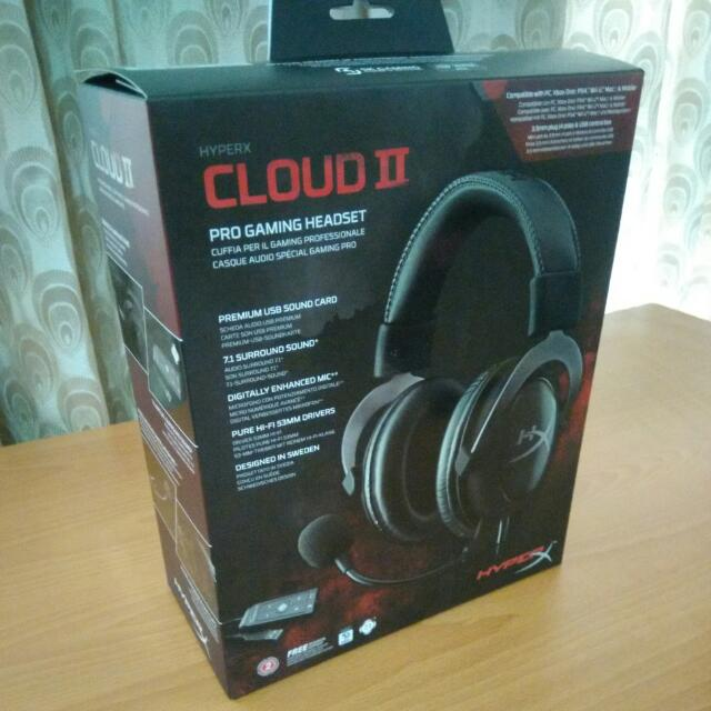HyperX Cloud II 金士頓耳罩式耳機