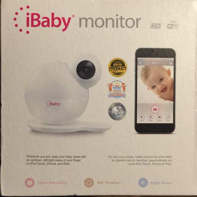 Ibaby Monitor M6 WIFI HD BABY MONITOR CAMERA
