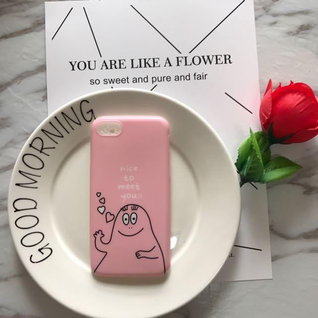 愛心巴巴粉色iPhone 手機殼