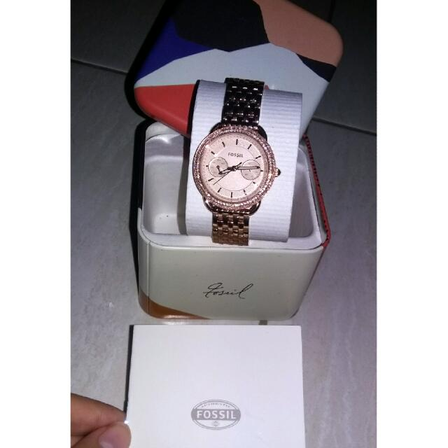 Jam Fossil 100%ori Jual Rugi. Money Back Guarantee