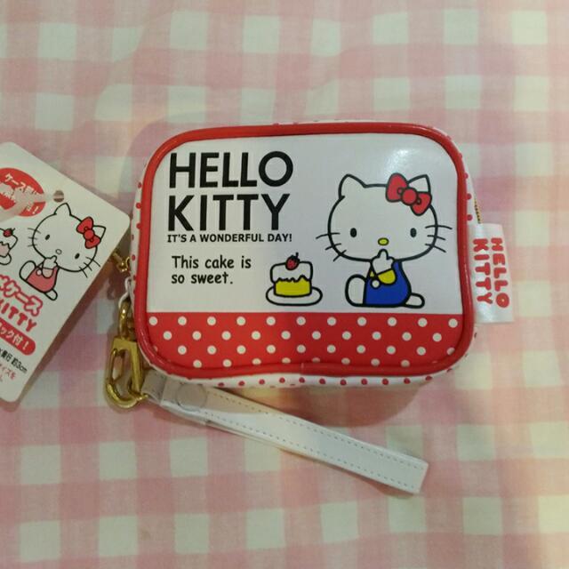 (降)日本三麗(復古kitty小包)零錢包