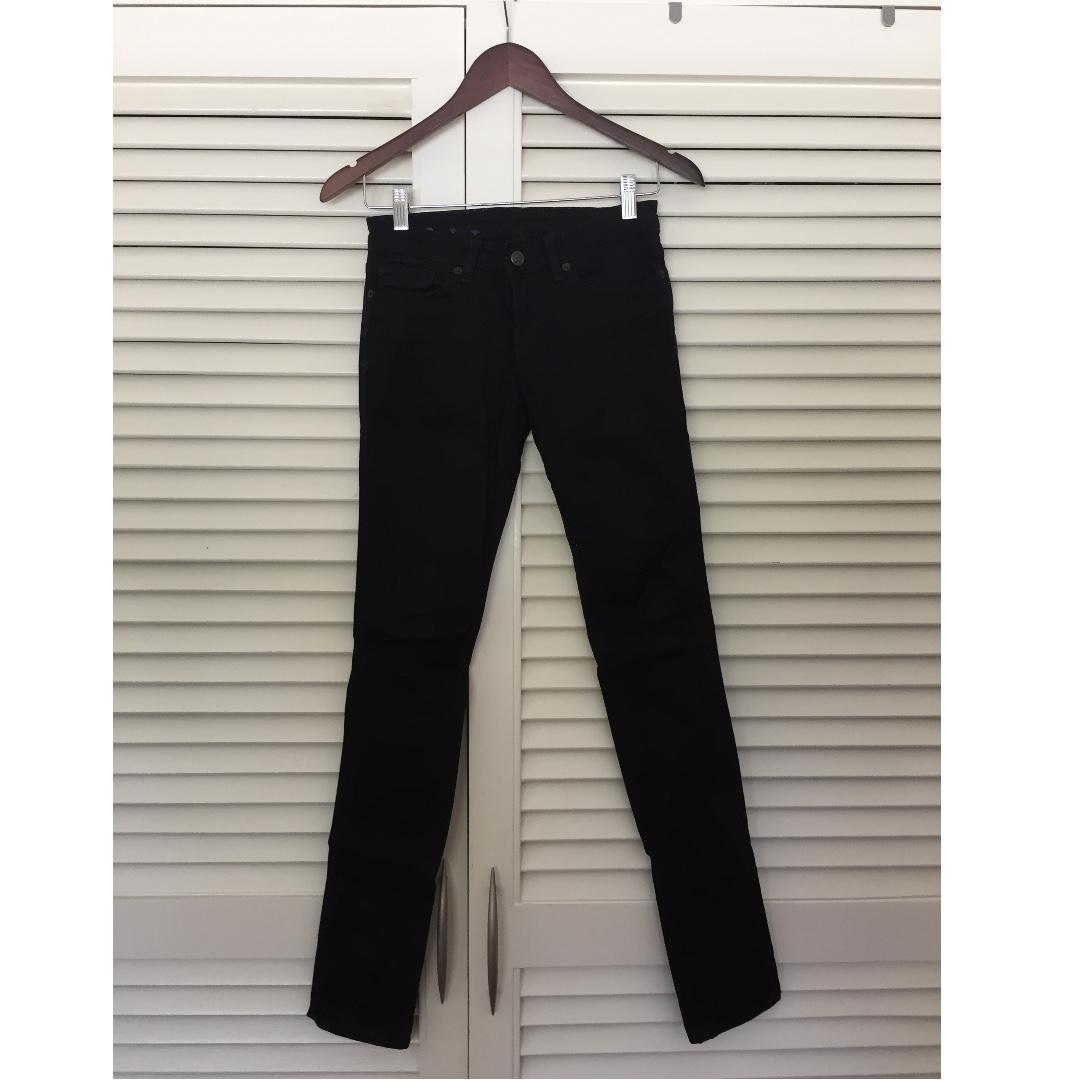 Ksubi skinny black jeans (size 25)
