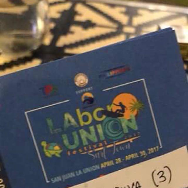LABOR UNION 2017 Ticket!!