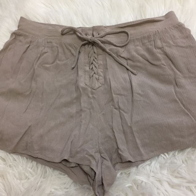 Lace-up Forever 21 Shorts