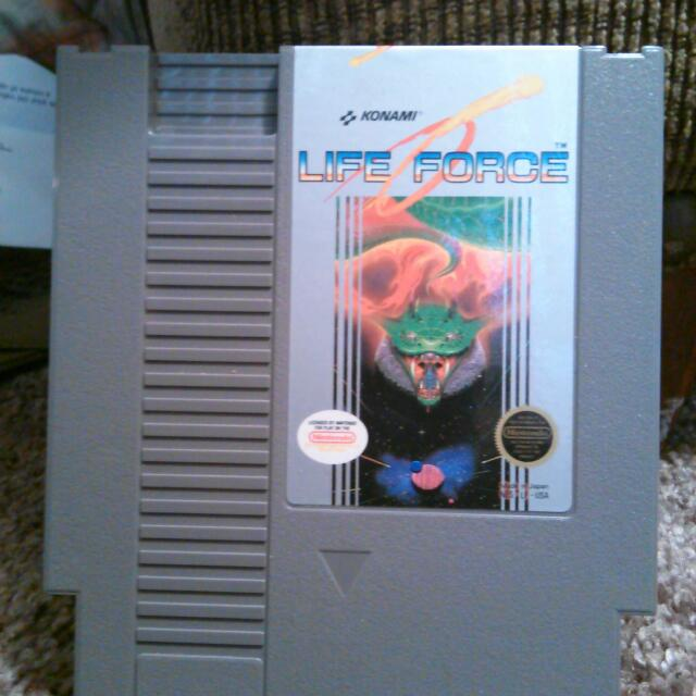 Life Force for Nintendo entertainment system