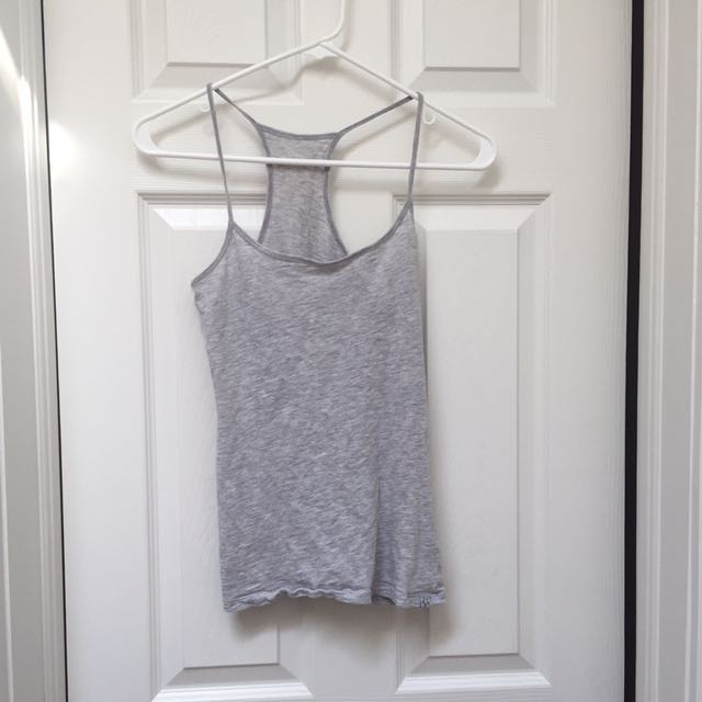 Light Grey Loose Tank Top