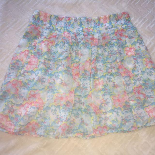 Light Weight Dressy Skirt