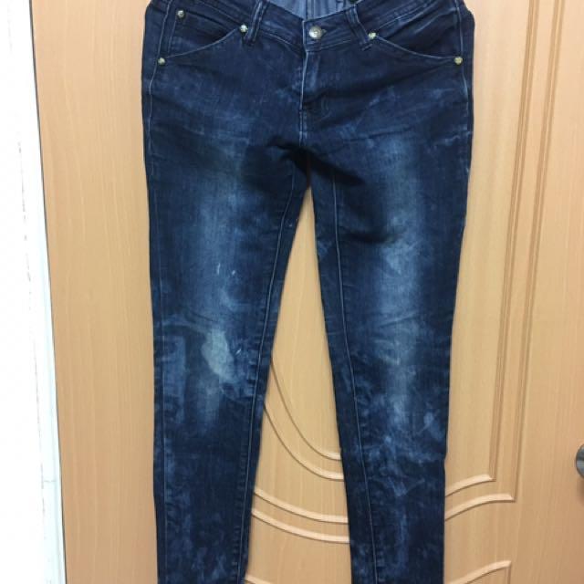 牛仔褲m (送)