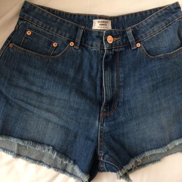 Mango Shorts  (Mom Short)