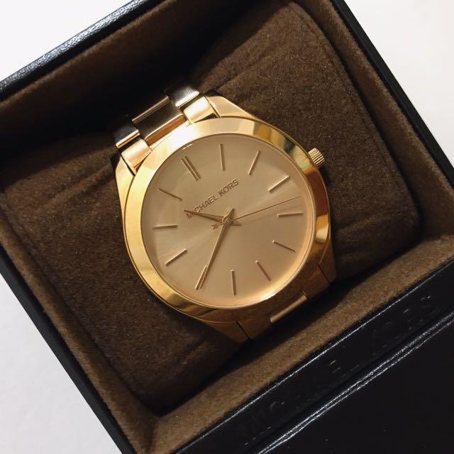 MICHAELKORS MK 玫瑰金 錶 #轉轉來交換 #我有手錶要賣