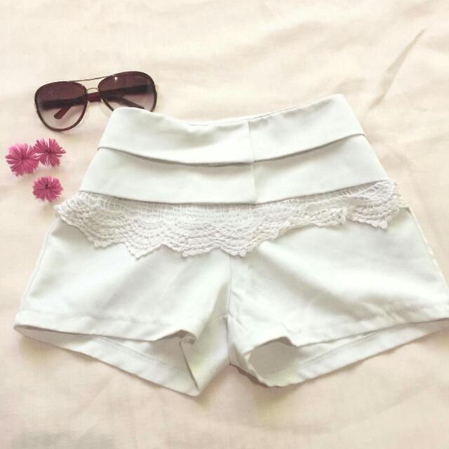 Mini White Short