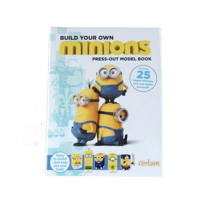 MINIONS PRESS-OUT MODEL BOOK