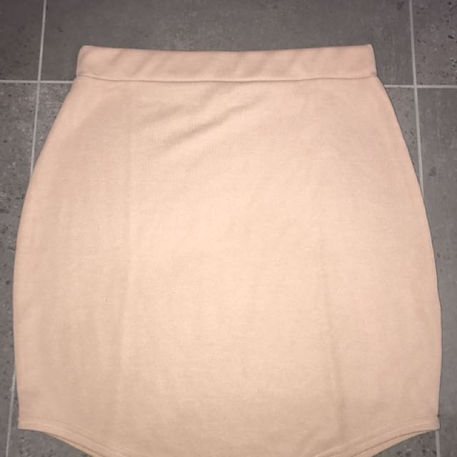 Miss Guided Mini Skirt, Size 14