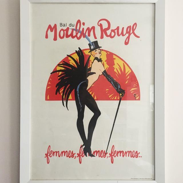 Moulin Rouge Framed Poster