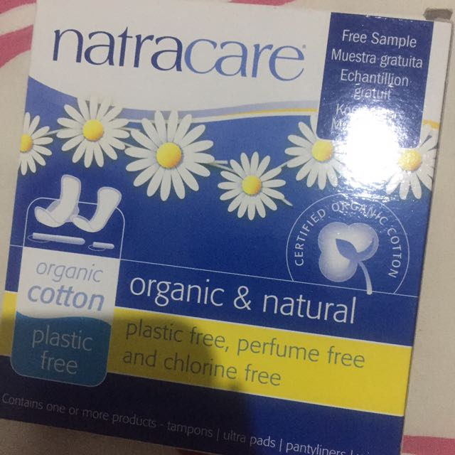 Natracare softex tampons organic