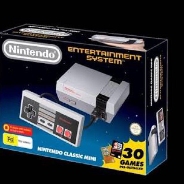 Nintendo Mini NES Classic Brand New+ Receipt!