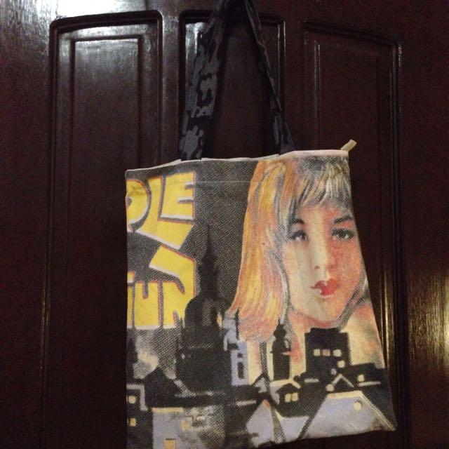 Original Artwork Big Tote Bag