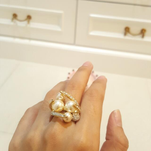 Pearl & Bling Ring