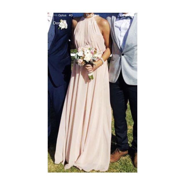 Pink Blush Bridesmaid/formal Dress