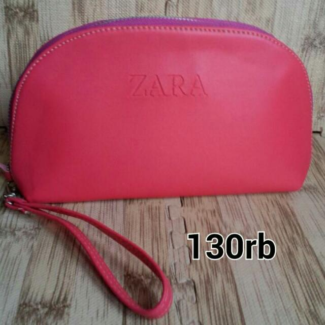Pouch Make Up Pink Zara