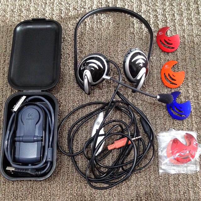 Pre💝Logitech Webcam And Headset