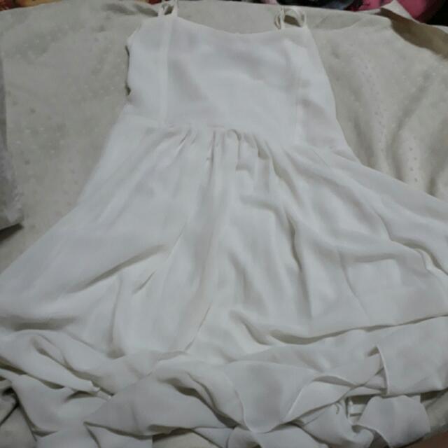 Pre-loved Long Dress - White