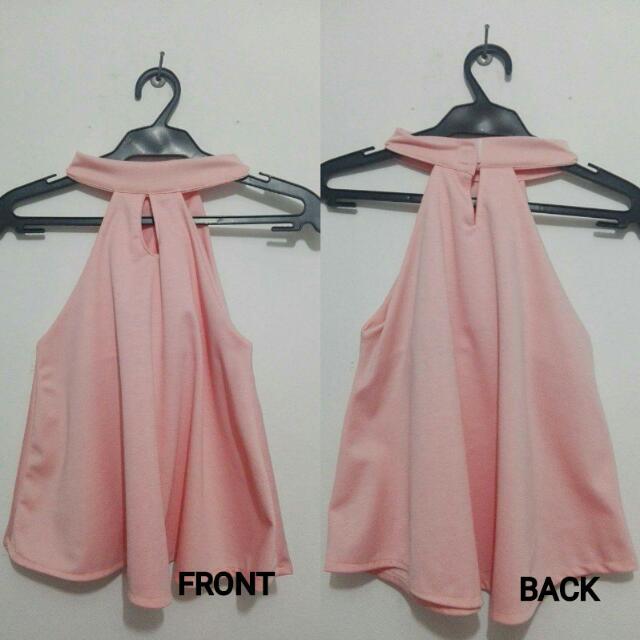 PRELOVED TOPS!!! Pink Sleveless