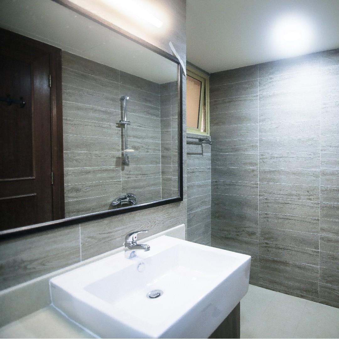 Kitchen Renovation Singapore Package: Premium HDB Toilet Renovation Package For 2 Toilets, Home